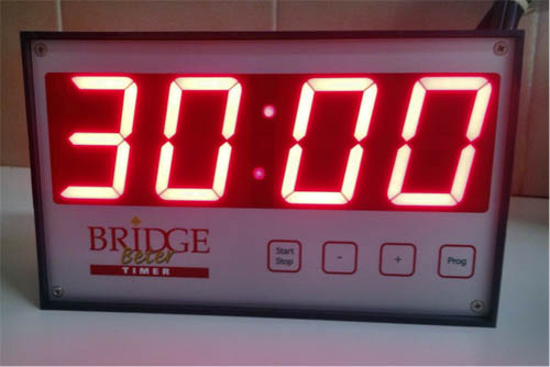 Better Bridge Timer